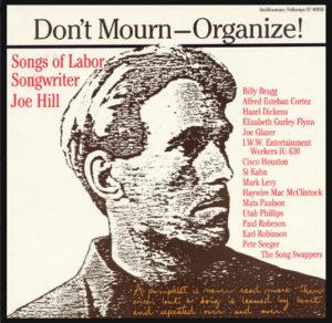 Don't Mourn Organize Folkways album